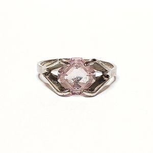 Lilac Amethyst Sterling Ring Vintage